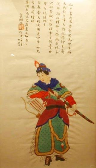 3. Hua Mulan goes to war. (Kung Fu Tea)