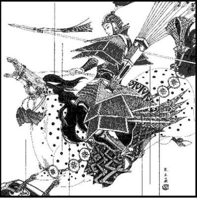 5- Mulan in battle. (Disneyfied or Disney tried)