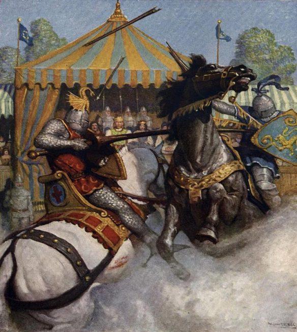 Torneo-justas-corte-rey-Arturo