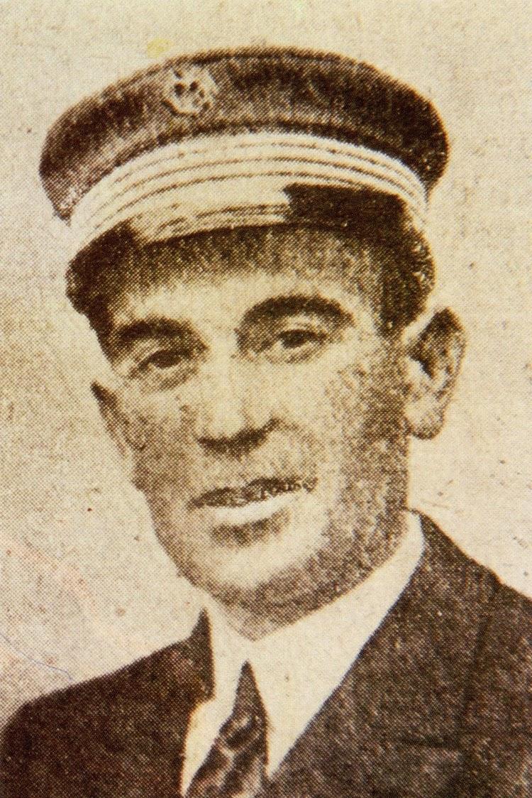 D. Ramón Martín Cordero. Capitán del VALBANERA en su último viaje. Del libro El Misterio del VALBANERA