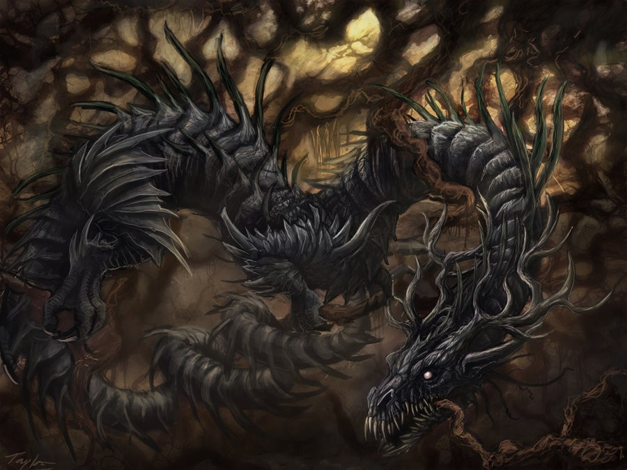 dragón-Níðhöggr