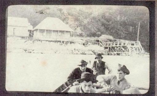 Lllegando a Bajo Pisagua 1908