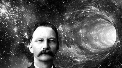 Rudolf Fenz, the first time traveler in history